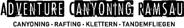 Adventure Canyoning Ramsau Logo